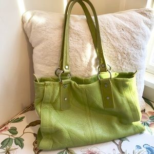Kenneth Cole Soft Leather Tote